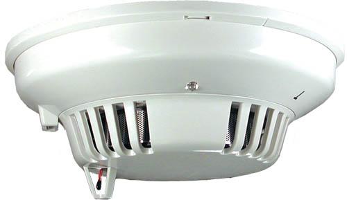 Smoke/heat (135°F) detector, 4-wire