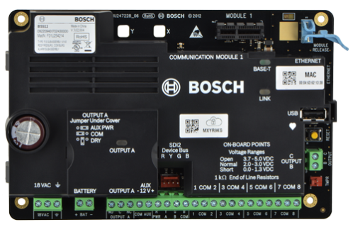 B4512 IP control panel, 28 points