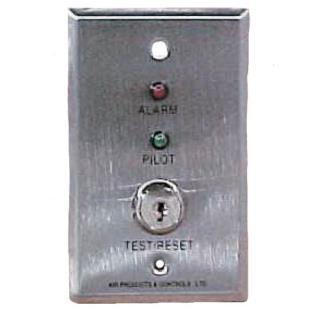D305 Remote test/indicator plate, 24V