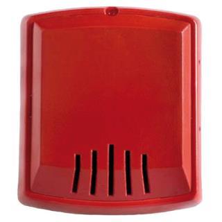 W-HNR Sirena pared, 2 cables, 12/24V, roja