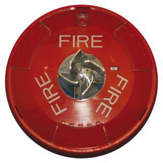 W-STRC Ceiling horn/strobe 2-wire 15-150cd, red