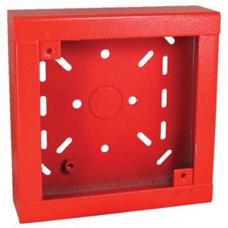 SHBB-R Caja posterior superf, superficial, roja