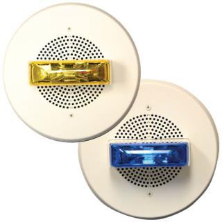 E90 Speaker-Strobes with Colored Lenses