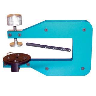 Mounting drill fixture, swivel-base