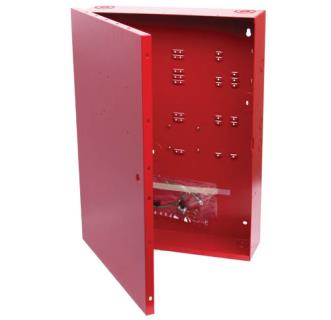 "Fire enclosure 20.7x15x4.25"", red"