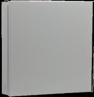 D8103 Caja acero, grande, gris
