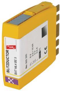 BXT ML4 BE 36 Blitzductor Kombi - Ableiter * für 2-Doppeladern bei LSNi 1500