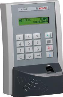 P5350 Zeit-Terminal mit Fingerprint- und Mifare-Leser