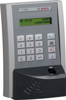P5350 Zeit-Terminal mit zweitem Leser LM530 für die Zutrittskontrolle mit Fingerprint, Mifare-Leser