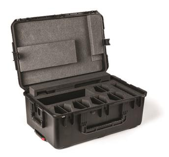 Transport case for 10x DCNM-xD