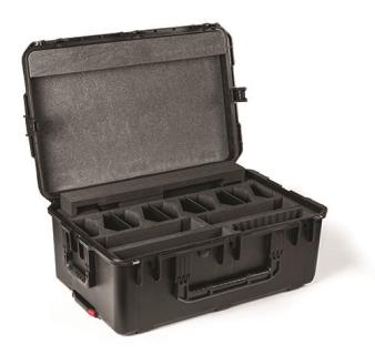 Valise transport syst radio 10x DCNM-WD