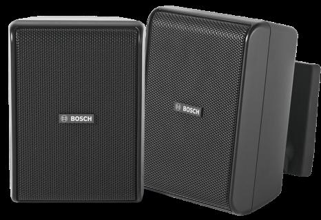 """Cabinet speaker 4"""" 70/100V black pair"""