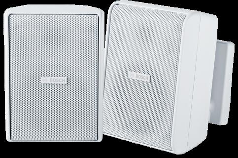 """Cabinet speaker 4"""" 70/100V white pair"""
