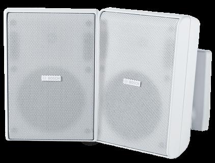 """Cabinet speaker 5"""" 70/100V white pair"""