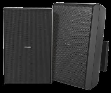 """Cabinet speaker 8"""" 70/100V black pair"""