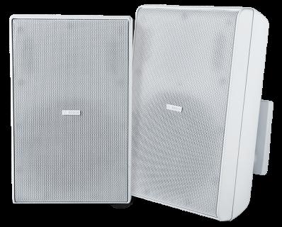 """Cabinet speaker 8"""" 70/100V white pair"""