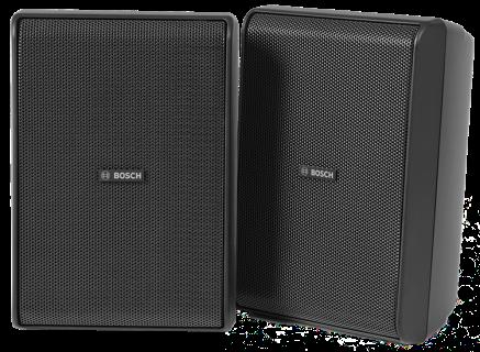 """Cabinet speaker 5"""" 70/100V IP65 bk pair"""