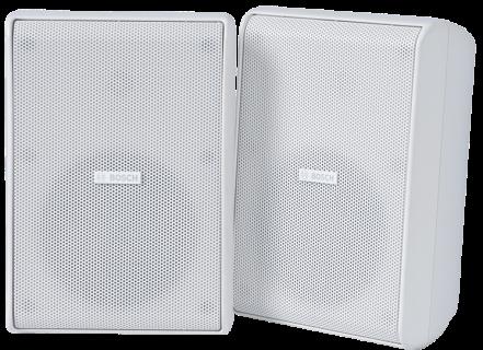 """Cabinet speaker 5"""" 70/100V IP65 wh pair"""