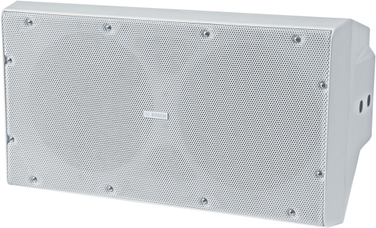 """Cabinet subwoofer 2x10"""" white"""