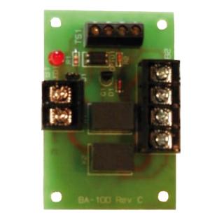 Backup amplifier switching module