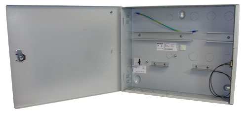 Enclosure with 1 DIN rail