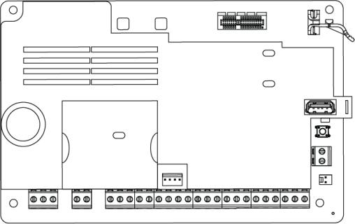 16 zone Alarm Control Panel