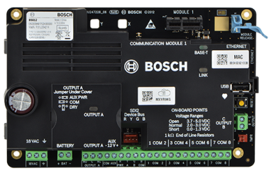 B5512 IP control panel, 48 points