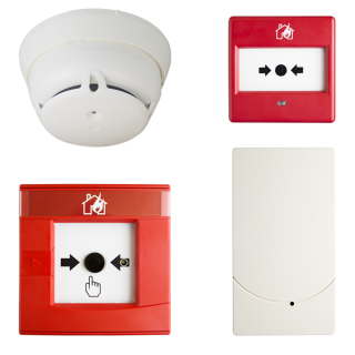 Sistema di rivelazione incendio wireless