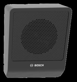Cabinet speaker 6W angled black