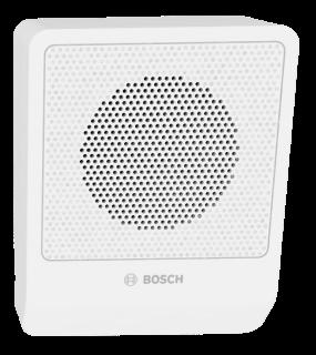 Cabinet speaker 6W angled white