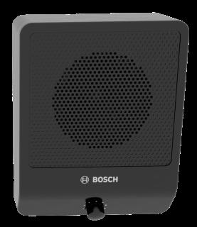 Cabinet speaker 6W volume control black