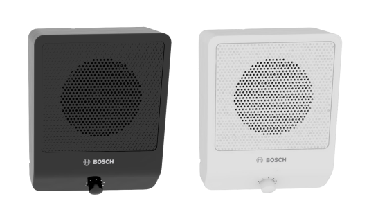 LB10-UC06V-x Alto-falantes de gabinete, 6 W, controle de volume