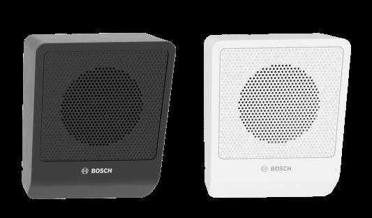 Cajas acústicas LB10-UC06-x de 6W en ángulo