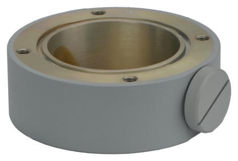 MIC-SCA-MG Conduit adapter, shallow, grey sand