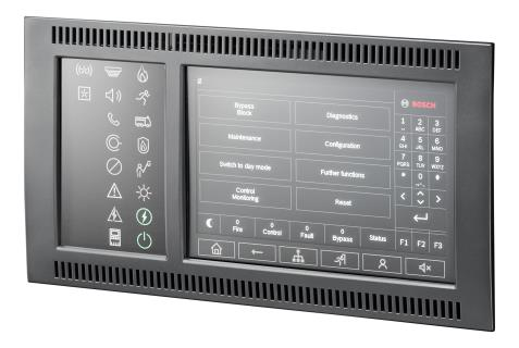 Panel controller FPE-8000-SPC/PPC