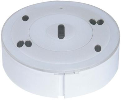 Smoke detector optical, white