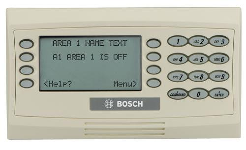 D1260 LCD text keypad, soft keys off-white SDI