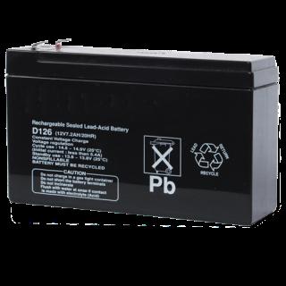 D126 电池,12V 7Ah