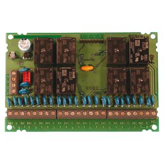 Multiplex octal relay module