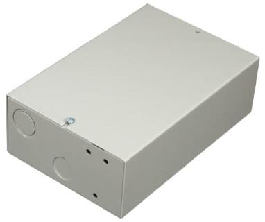 D203 Steel enclosure for module, small, grey