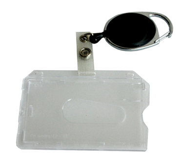 Card container with yoyo, ISO, 10pcs