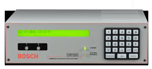 Central station receiver, 2-line, IP