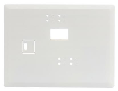 Trim plate for keypad