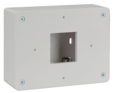 Keypad surface mount box