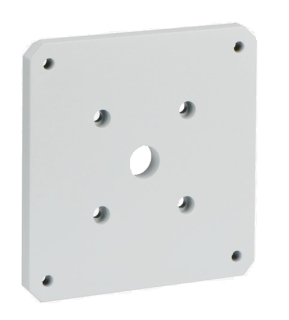 MIC-SPR-WD 壁面マウントスプレッダープレート、白サンド