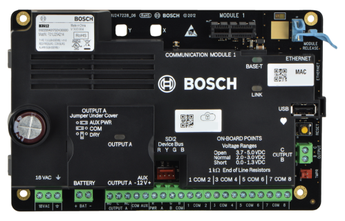 IP control panel, 16 points