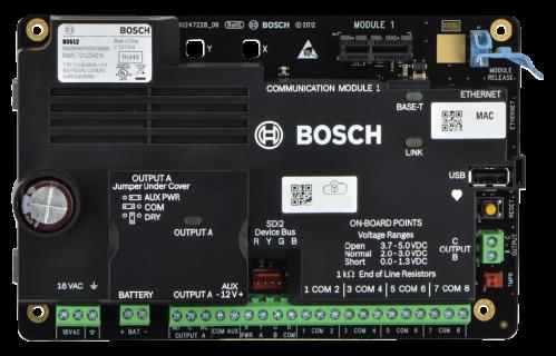 Paneles de control B3512