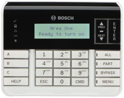 B920 Teclado txt LCD con teclas función, SDI2