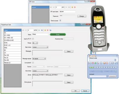 PRS‑TIC PC Telephone Interface Client