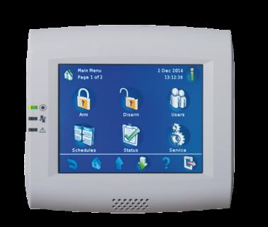 IUI-MAP0001-2 Touchscreen-Bedieneinheit